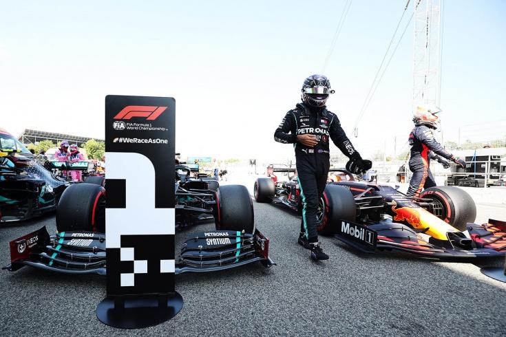 Боттас не смог: Хэмилтон на поуле Гран-при Испании, у Квята — лучшая квалификация
