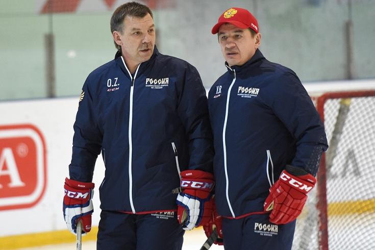 Олег Знарок и Валерий Брагин