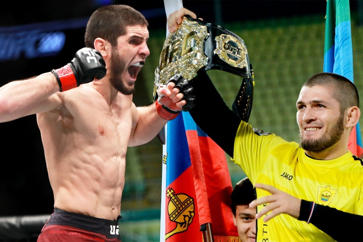 Хабиб Нурмагомедов назвал Ислама Махачева своим преемником в UFC