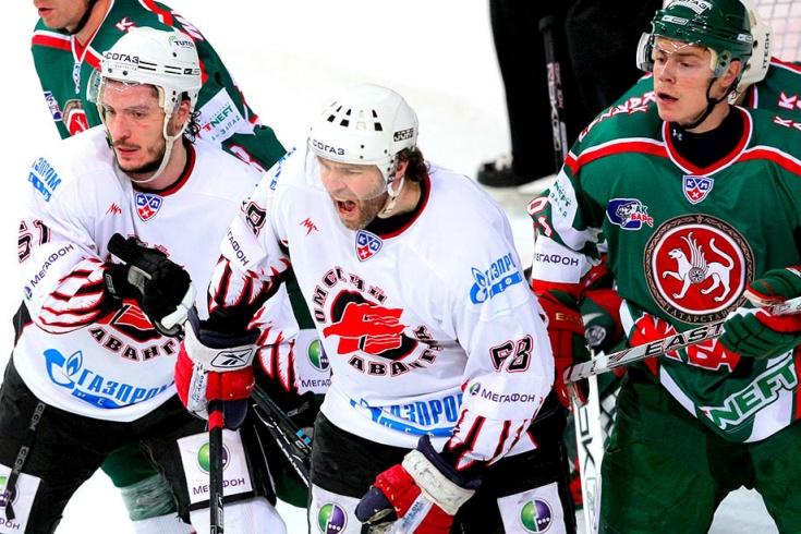 «Ак Барс» — «Авангард» в сезоне-2008/09