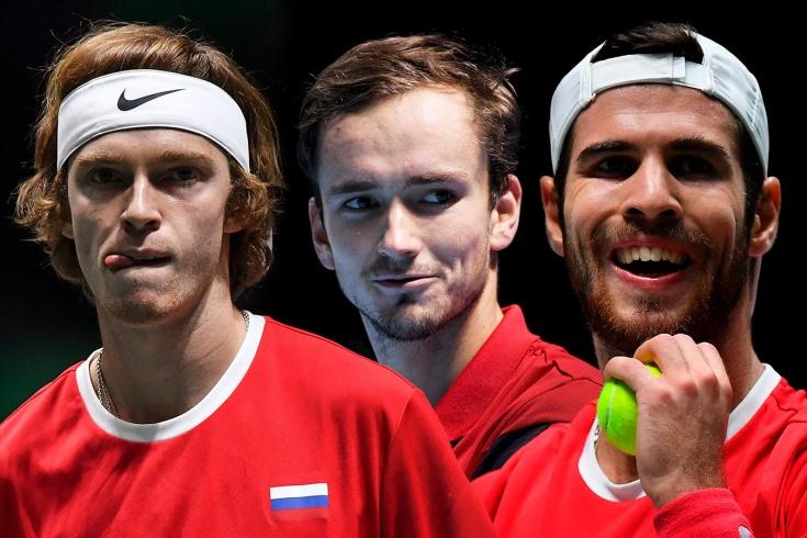 Медведев, Хачанов и Рублёв – в топ-20