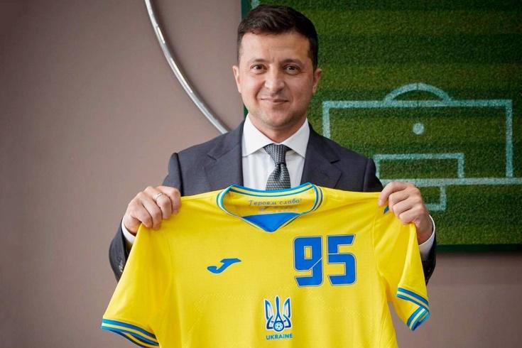 УЕФА обязал сборную Украину поменять форму
