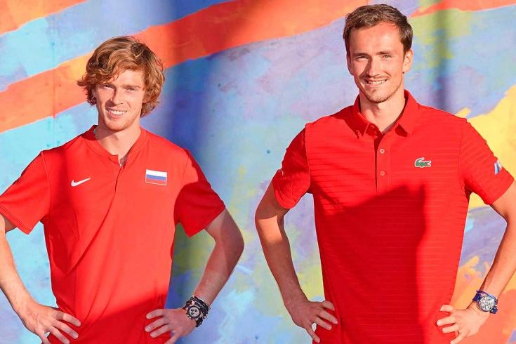 Сборная России на ATP Cup. Даниил Медведев и Андрей Рублёв победили команду Германии и вышли в финал
