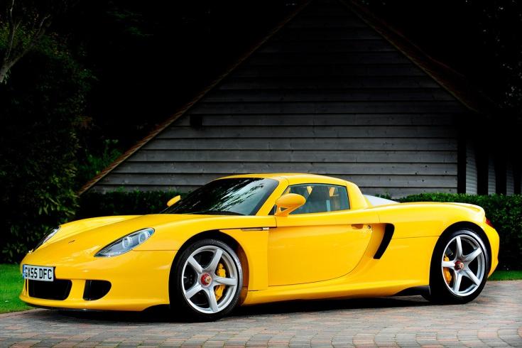 Porsche Carrera GT — суперкар