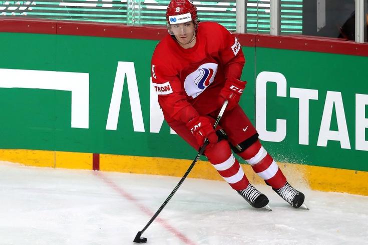 Не зря Морозов носит номер Овечкина! Русский форвард провёл крутой матч на ЧМ