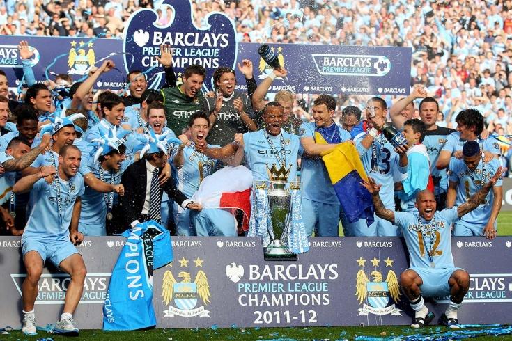 Чемпионство «Манчестер Сити» 2011/12