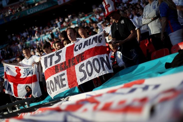 История главной футбольной песни Англии. Её знают уже во всем мире