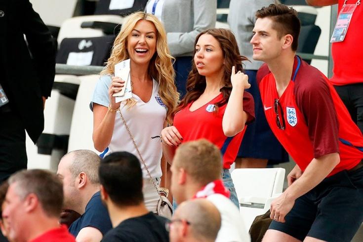 Жёны футболистов сборной англии