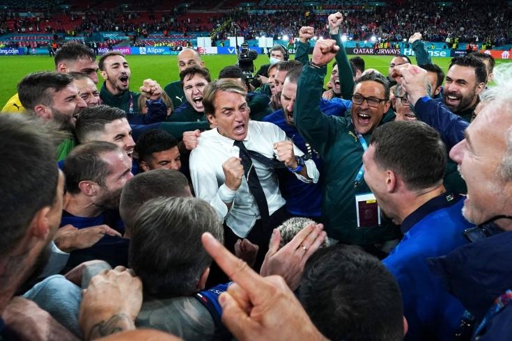 Италия — Испания. Онлайн