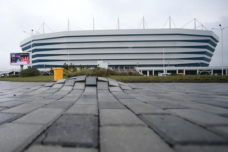 Калининград: проблемы со стадионом сборной России