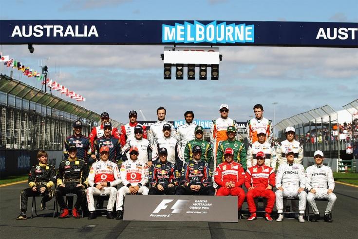 Назовите всех боевых гонщиков Формулы-1 за 10 лет