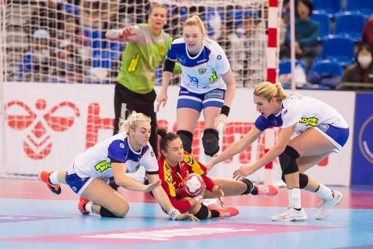 Россия разгромила Румынию на чемпионате мира