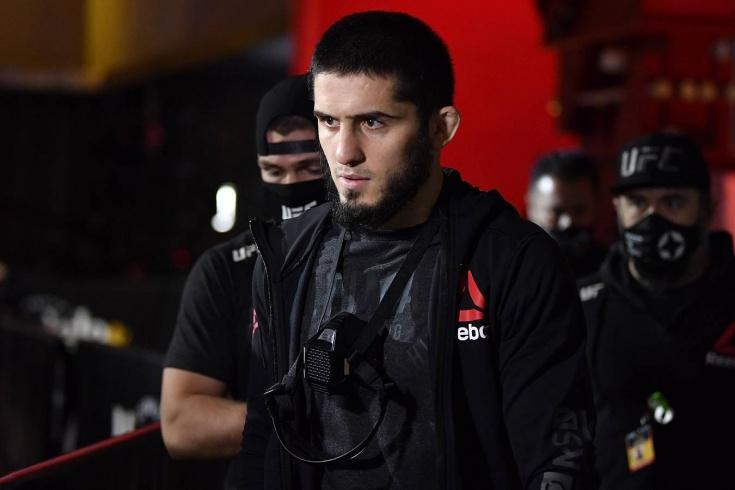 Бой Ислам Махачев — Тиаго Мойзес, прямая трансляция UFC Вегас 31, онлайн боя Махачев — Мойзес