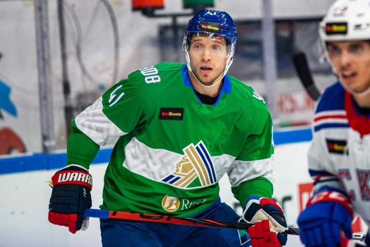 Николай Кулёмин дебютировал за «Салават Юлаев» в матче со СКА, как он сыграл