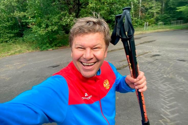 Дмитрий Губерниев рассказал, что происходит перед стартом первого этапа Кубка мира по биатлону