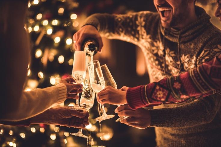 Что можно пить на Новый год, чтобы не поправиться?