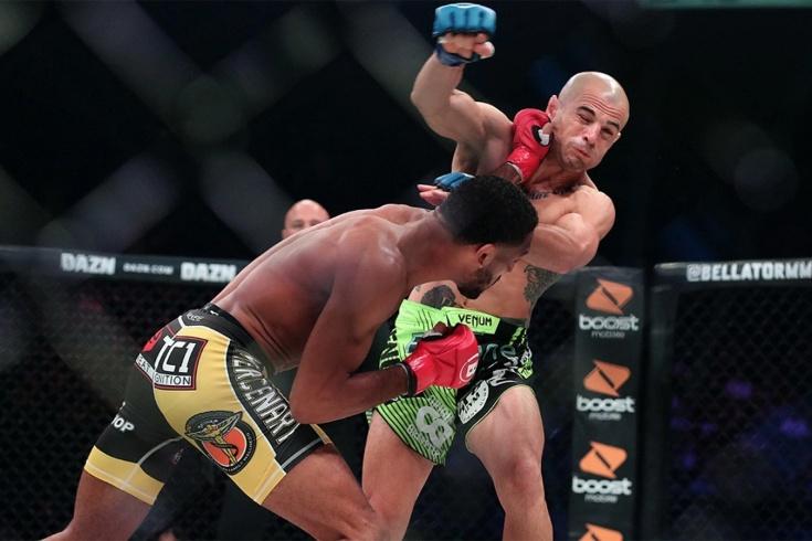Эй Джей Макки нокаутировал Георгия Караханяна на турнире Bellator 228 за 8 секунд