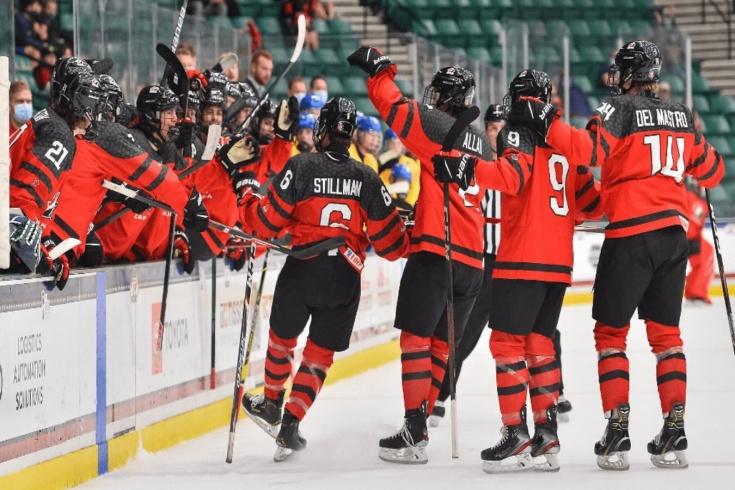 Канада — Швеция – 8:1 – видео, голы, обзор полуфинала юниорского чемпионата мира по хоккею — 2021