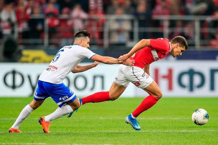 «Спартак» — «Динамо» — 0:0, 3 августа 2019