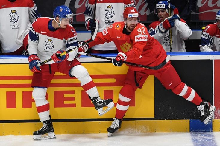 Евгений Кузнецов против сборной Чехии