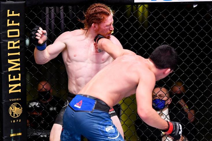 Спайк Карлайл — Билл Куарантилло, видео боя UFC (Fight Night) on ESPN 9