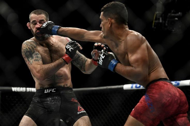 Мигель Баеза нокаутировал Мэтта Брауна, видео боя UFC Fight Night 172