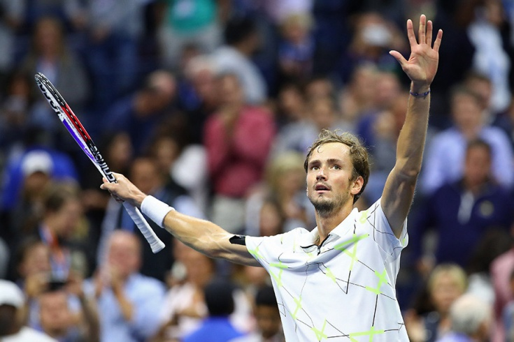 Даниил Медведев — финалист US Open-2019