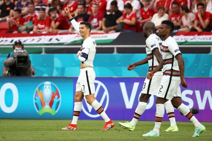 Евро-2020: Реакция соцсетей на рекорды Роналду