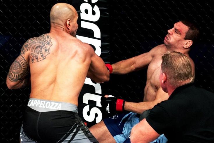PFL 3: Бруно Каппелоцца в первом раунде нокаутировал Анте Делию, видео
