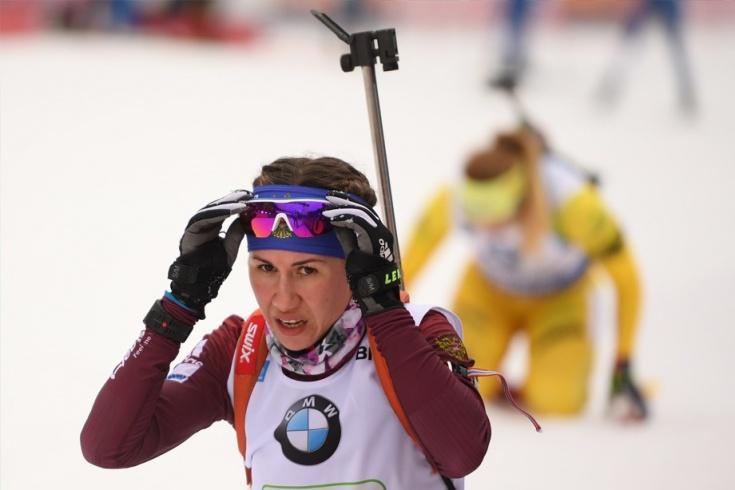 Дарья Виролайнен, сборная России по биатлону