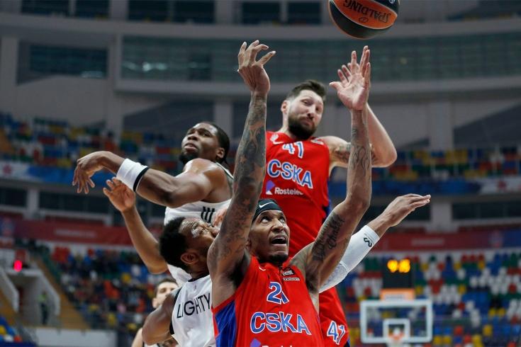 ЦСКА обыграл АСВЕЛ и обеспечил себе второе место в регулярном чемпионате Евролиги