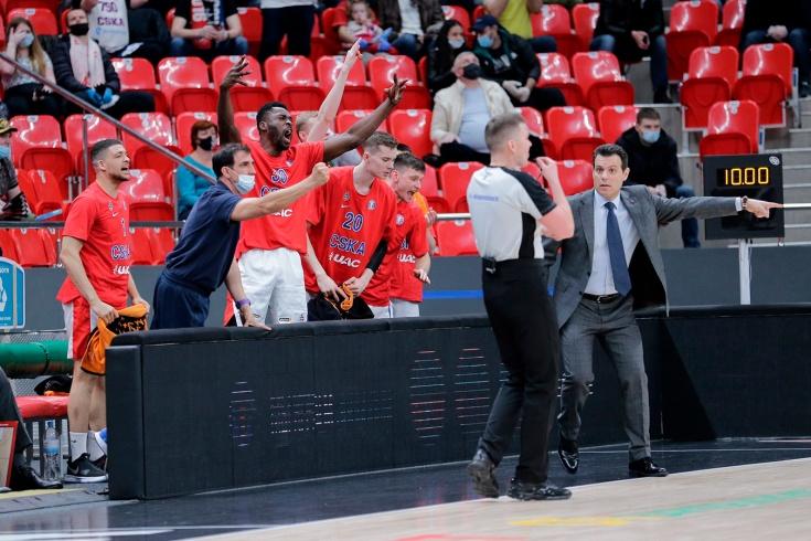 ЦСКА совершенно не готов к решающей фазе сезона. У Итудиса уже сдают нервы?