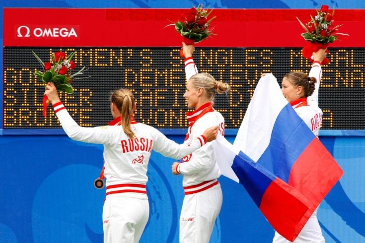 Олимпиада, теннис, как издевались над россиянками