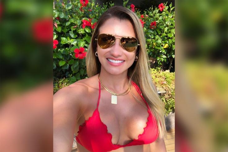 Жена бразильского нападающего Вагнера Лав