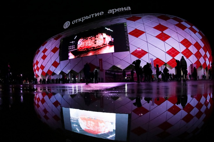 «Открытие кормушки Арена». Реакция на переименование стадиона «Спартака»