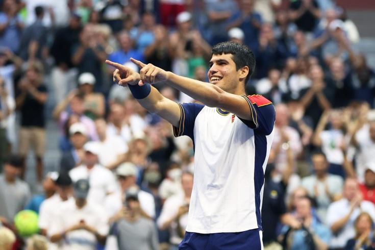 Отправил домой Циципаса и переписал историю US Open! Кто остановит 18-летнего Алькараса?