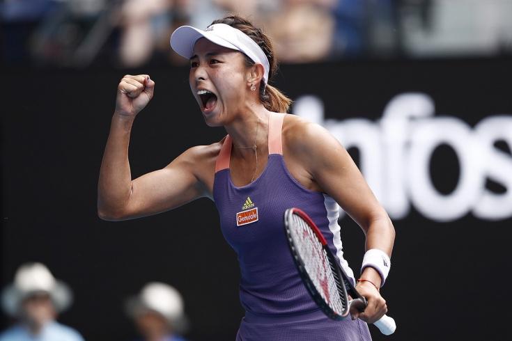 Ван Цян прокомментировала победу над Сереной Уилья
