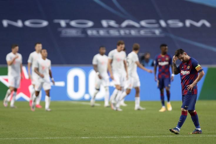 Унижение «Барселоны». Великолепная «Бавария» забила восемь мячей команде Месси!
