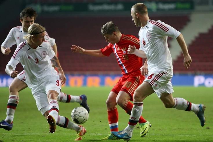 Как сборная России обыграла датчан в 2012 году