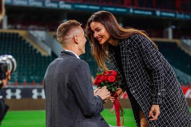 Романтичные поступки футболистов