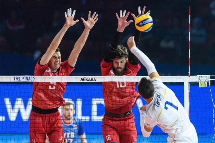 Сборная России по волейболу, Лига наций