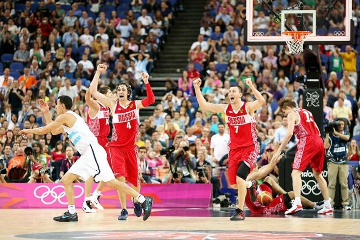 Сборная России завоевала бронзу Олимпиады-2012