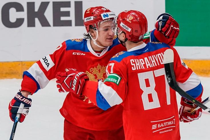 Оценки сборной России за матч со Швецией на КПК