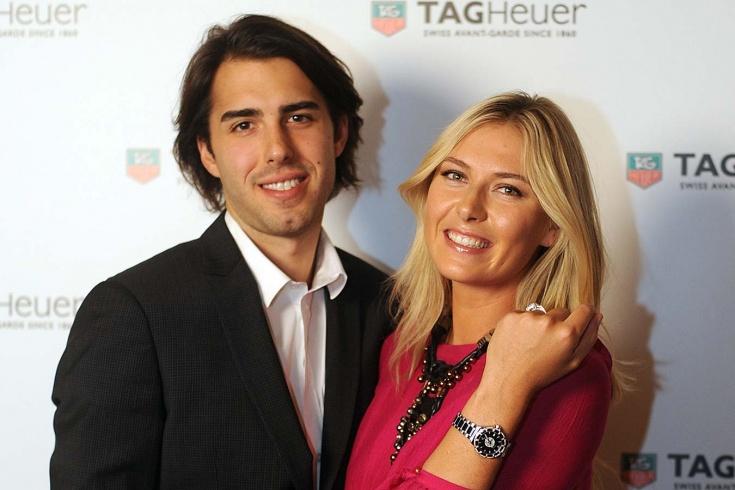 Мария Шарапова и Саша Вуячич. Первая помолвка теннисистки. Как они познакомились и расстались. Фото