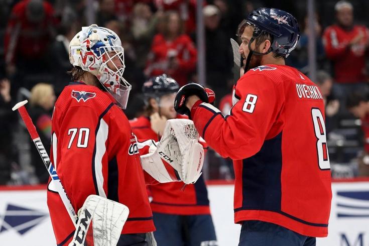 «У нас вся команда русским матом разговаривает». «Вашингтон» раскрасили в радугу