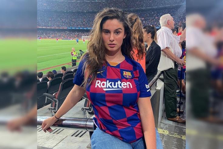 Плюс-сайз модель Ника Хименес болеет за «Барселону». Увлечение футболом, спортивный стиль
