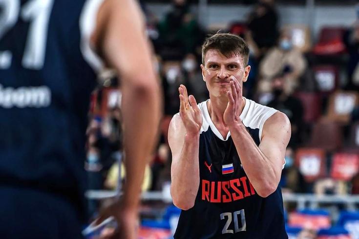 Сборная России разгромила Северную Македонию и вышла на чемпионат Европы по баскетболу