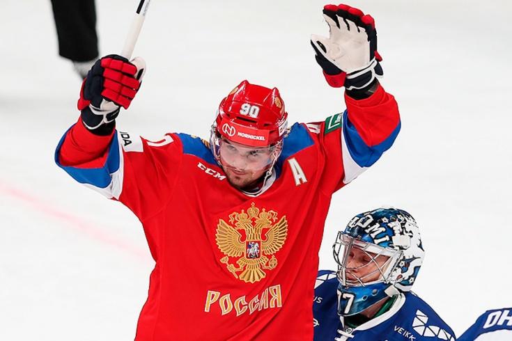 Финляндия — Россия — 0:3