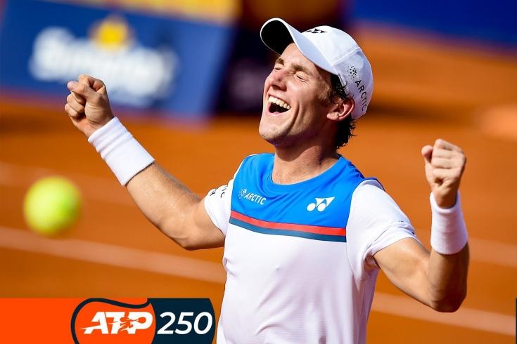 Турнир ATP-250 в Кицбюэле: Каспер Рууд выиграл 9 матчей подряд, самые красивые розыгрыши и забавные моменты, видео