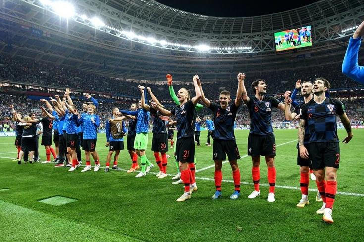 Хорватия — Англия — 2:1